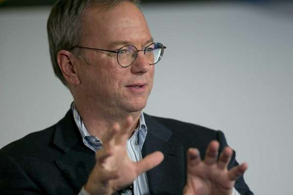 Google Executive Chairman Eric Schmidt said