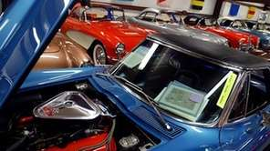 A 1967 Corvette is seen at Pro-Team Classic