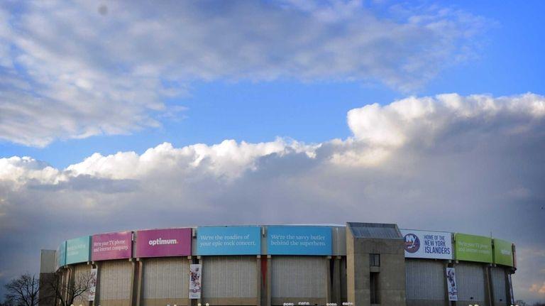 Nassau Coliseum in Uniondale. (March 13, 2013)