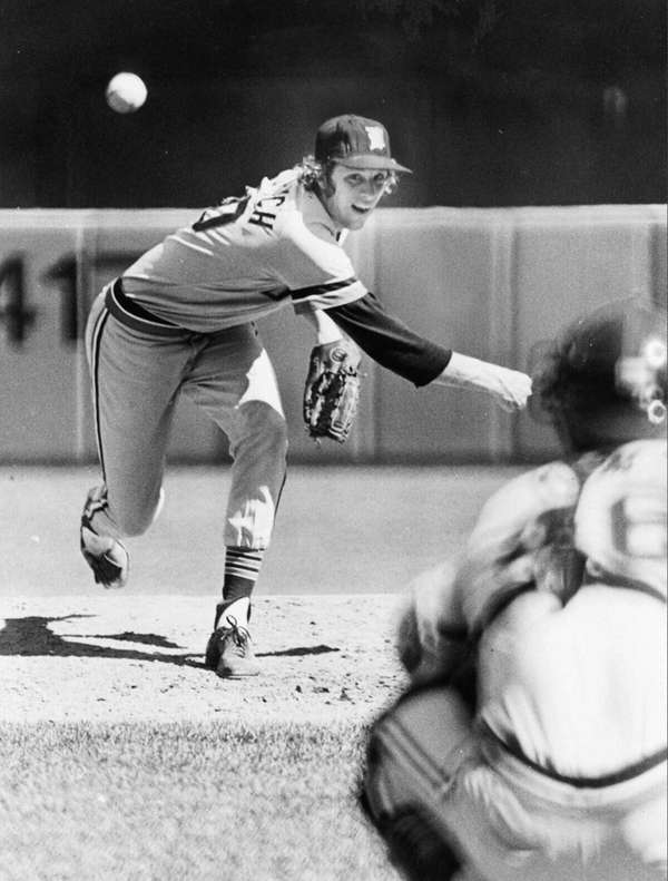 Mark Fidrych , pitcher for the Detroit Tigers