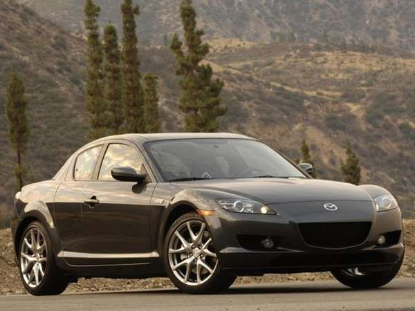 Worlds away and decades apart, the 2008 Mazda