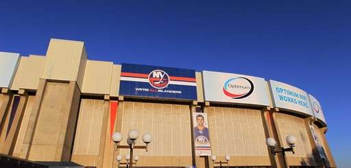 A view of the Nassau Coliseum. (Oct. 25,