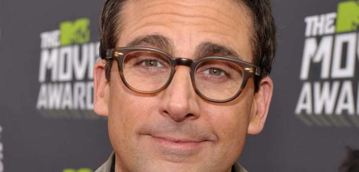 Steve Carell arrives at the MTV Movie Awards