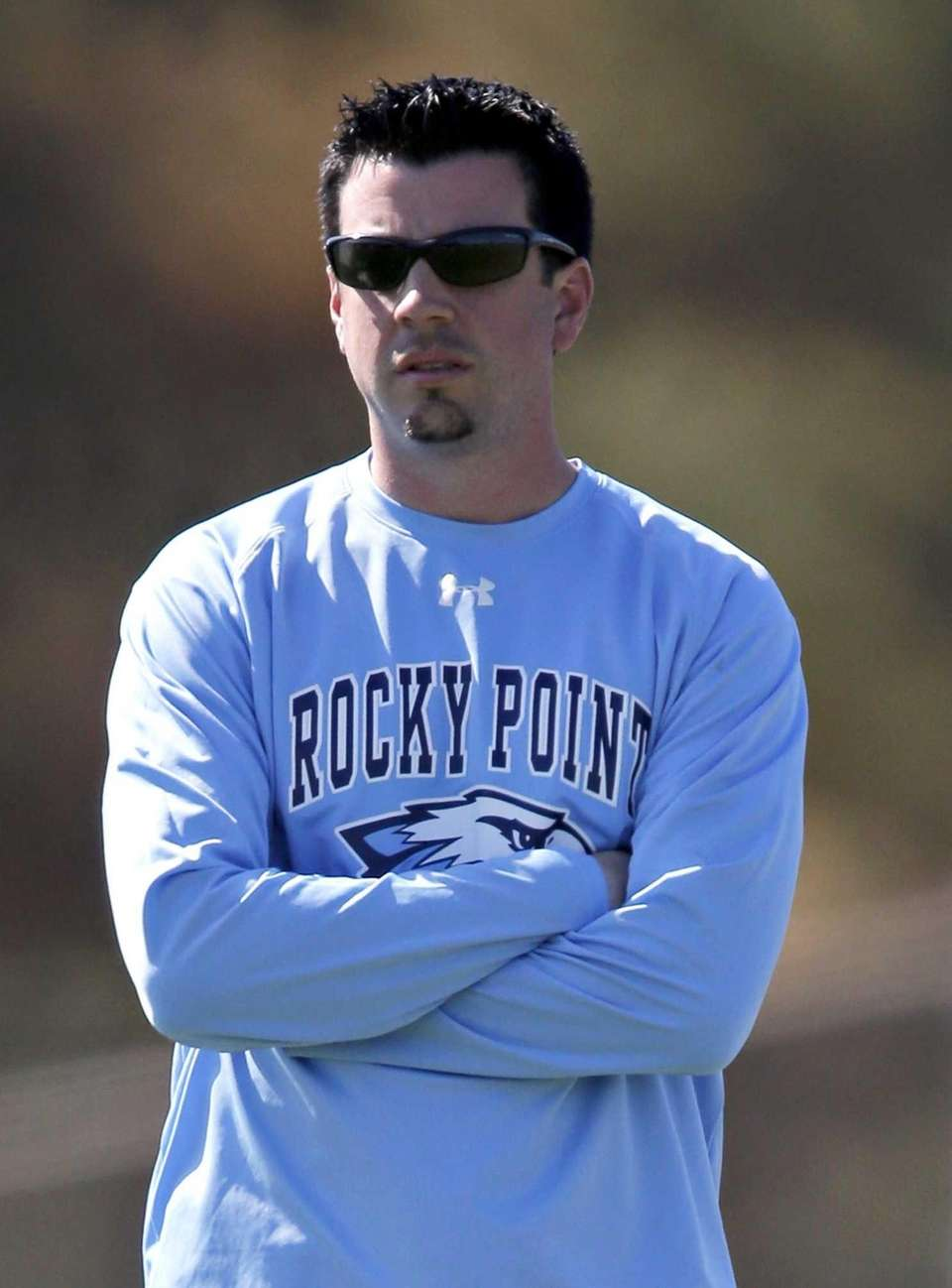 Rocky Point varsity girls lacrosse head coach Dan