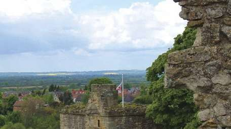 Pickering, in North Yorkshire, as seen from a