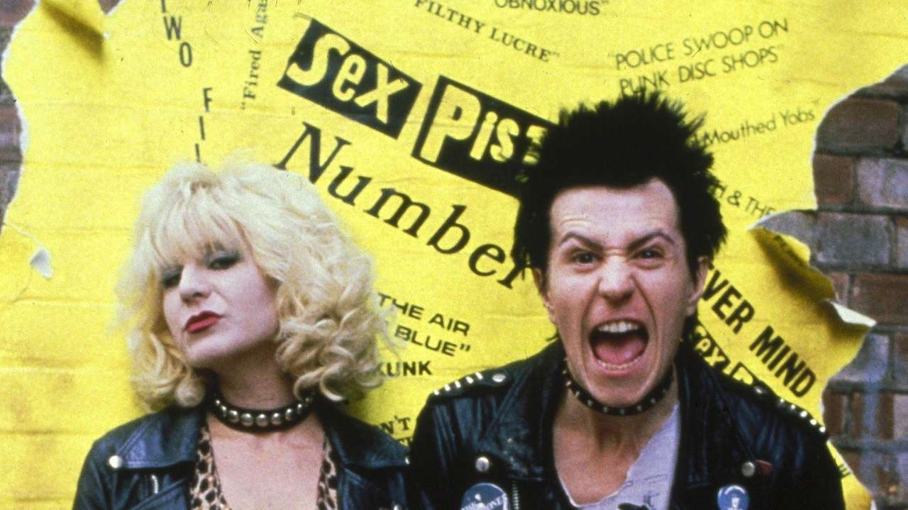 Gary Oldman stars as Sid Vicious and Chloe