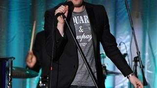 Michael Buble performs at the Academy of Television