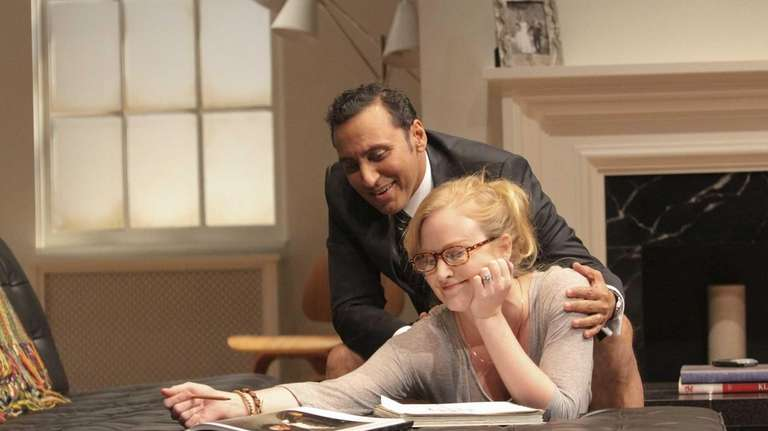 Aasif Mandvi and Heidi Armbruster star as Amir