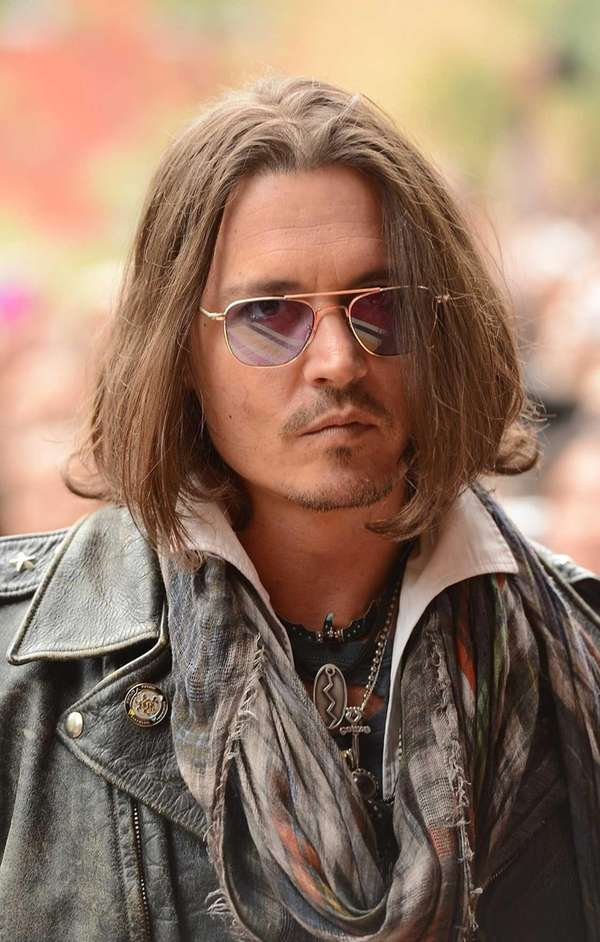 Johnny Depp attends the