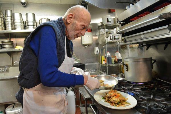 Jimmy Hays executive chef Richard Burns. (May 2,