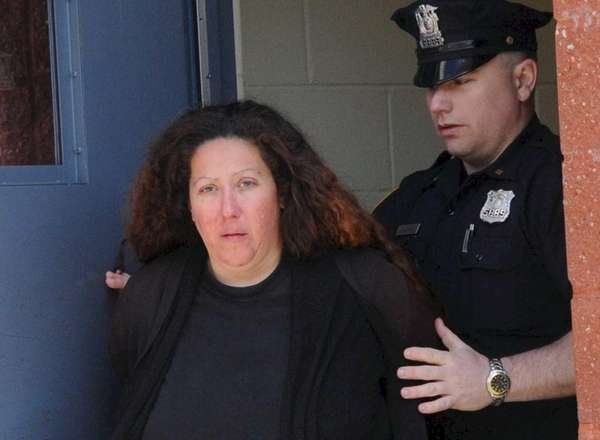 Maria Cepparo, of Bay Shore, is taken from