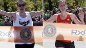 2013 Long Island Marathon winners: Derek Rammelkamp, left,