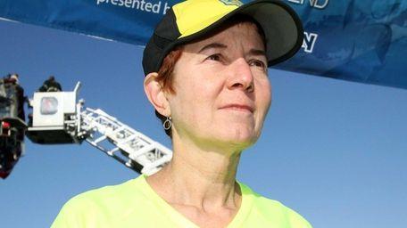 Long Island runner Nora Johnson, 60, who ran