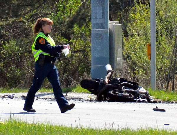 The driver of a motorcycle was killed when