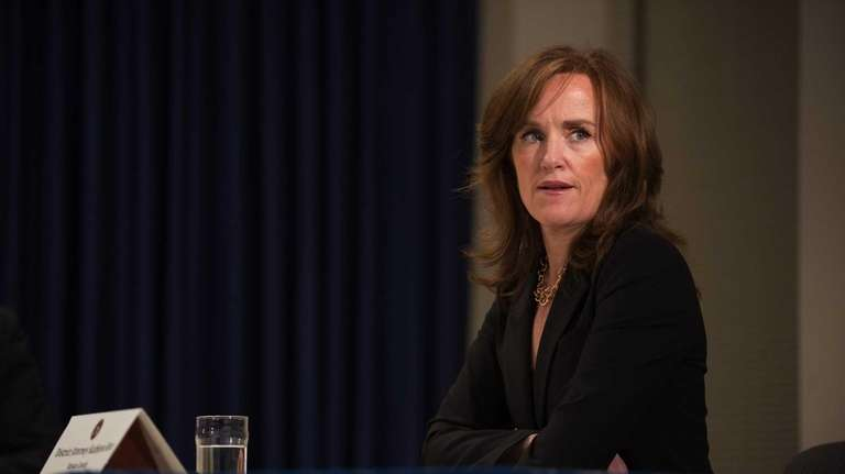 Nassau County District Attorney Kathleen Rice attends a