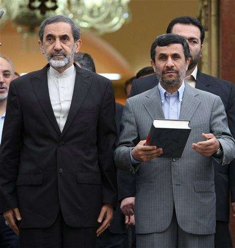 Iranian presidential hopeful, Ali Akbar Velayati, adviser to