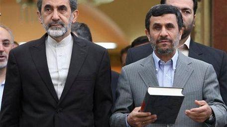 Iranian presidential hopeful, Ali Akbar Velayati, adviser to