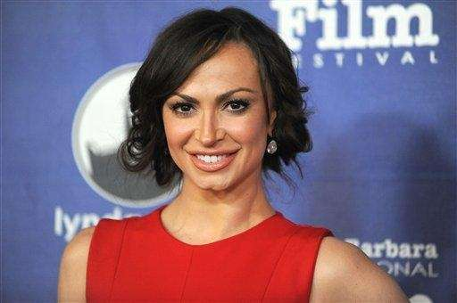 Karina Smirnoff attends the opening night of the