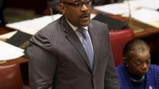 John Sampson becomes the third ex-Democratic Senate leader