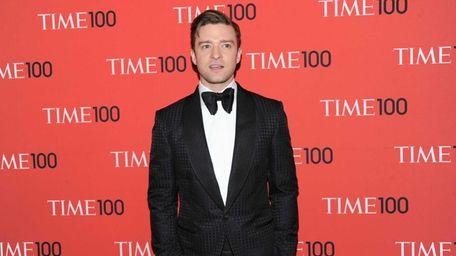 Justin Timberlake attends the TIME 100 Gala celebrating