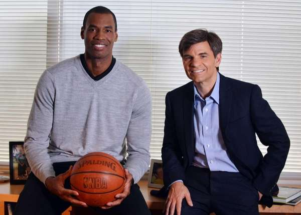 In this photo provided by ABC, NBA basketball