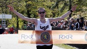 The Long Island Marathon men's full marathon first