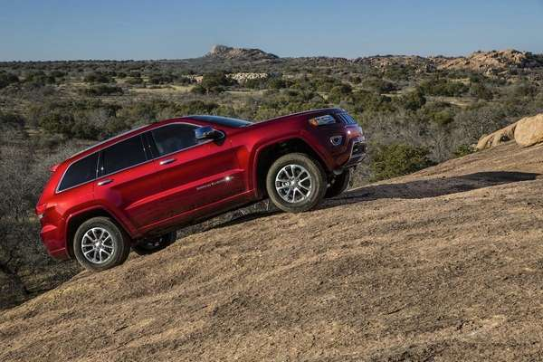 The 2014 Jeep Grand Cherokee Summit 4X4 four-door