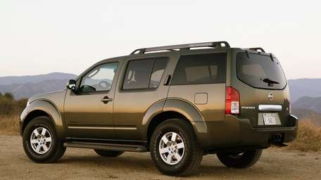 Some Nissan SUVs, such as the 2007 Pathfinder