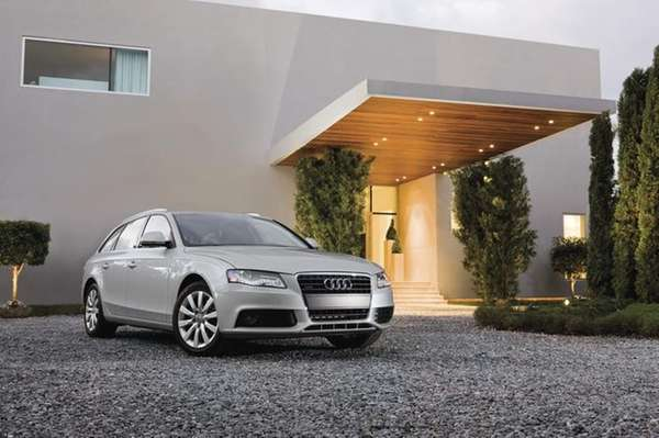 A car such as the 2011 Audi A4,
