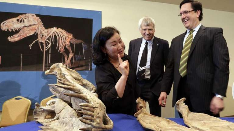 Mongolia's director of their natural history museum Bolortsetseg