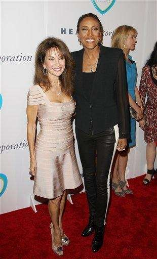 Susan Lucci and Robin Roberts attend the 12th