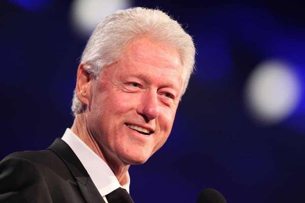 File photo of former President Bill Clinton. (July
