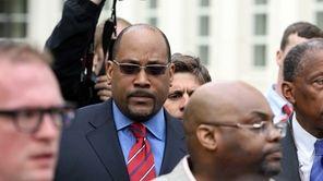 State Senator John Sampson charged with embezzlement and
