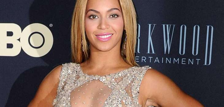 "Beyonce at the New York premiere of ""Beyonce:"