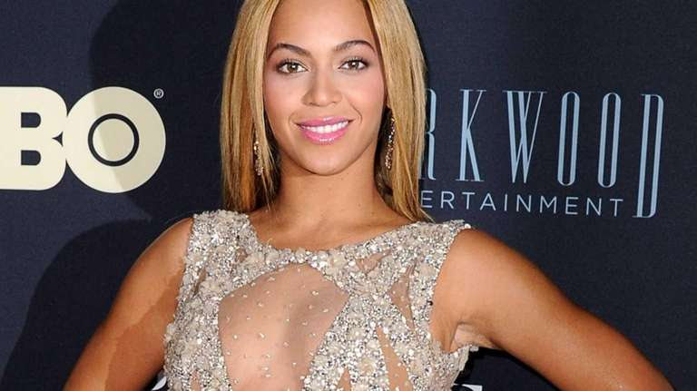 Beyonce at the New York premiere of