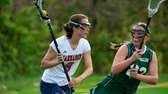 Manhasset midfielder Julia Glynn (8) attempts to sprint