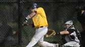 Ward Melville's Kyle Pedroli hits a two-run single