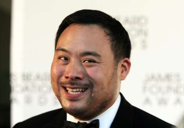 Restauranteur David Chang arrives at the James Beard