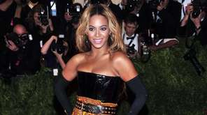 Beyonce attends The Metropolitan Museum of Art's Costume