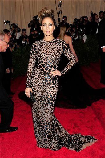 Jennifer Lopez attends The Metropolitan Museum of Art's