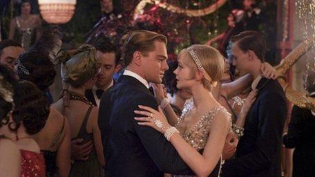 """Leonardo DiCaprio and Carey Mulligan in """" The"""