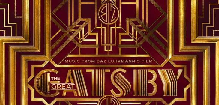 """The Great Gatsby"" soundtrack."