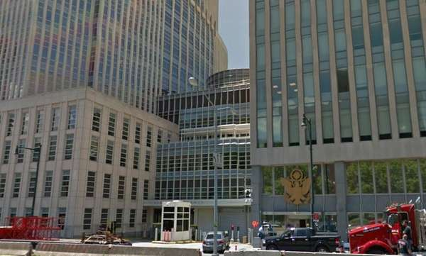 An image of the U.S. Federal Courthouse on