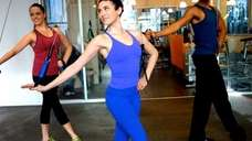 Instructor Rachel Piskin makes ballet fun for non-dancers.