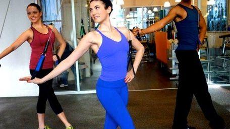 Instructor Rachel Piskin makes ballet fun for non-dancers.