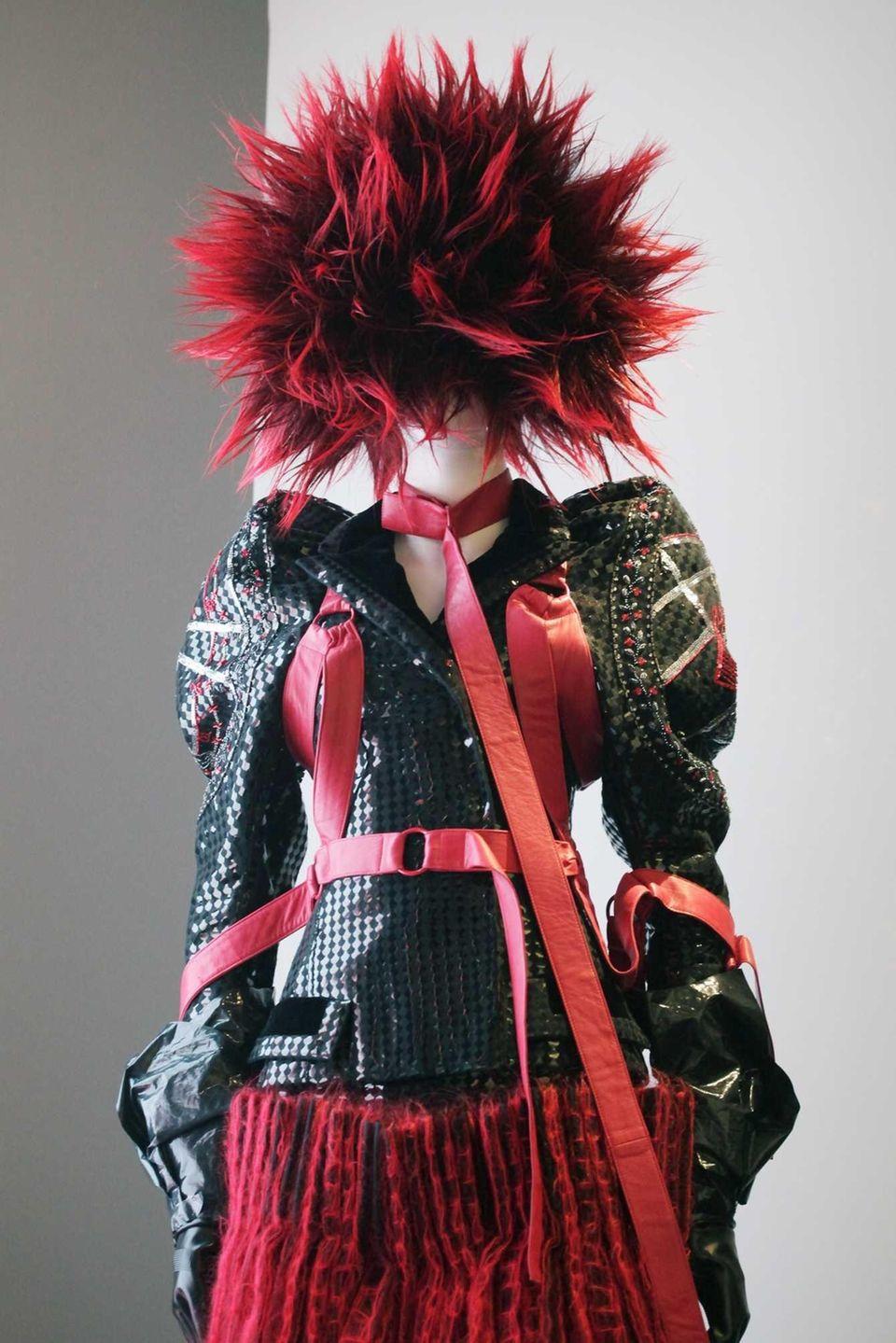 A late 1970's ensemble of fashion by Vivienne