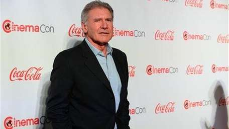 Harrison Ford arrives at the Cinemacon Big Screen