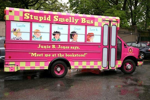 The 2013 Junie B. Jones Stupid Smelly Bus