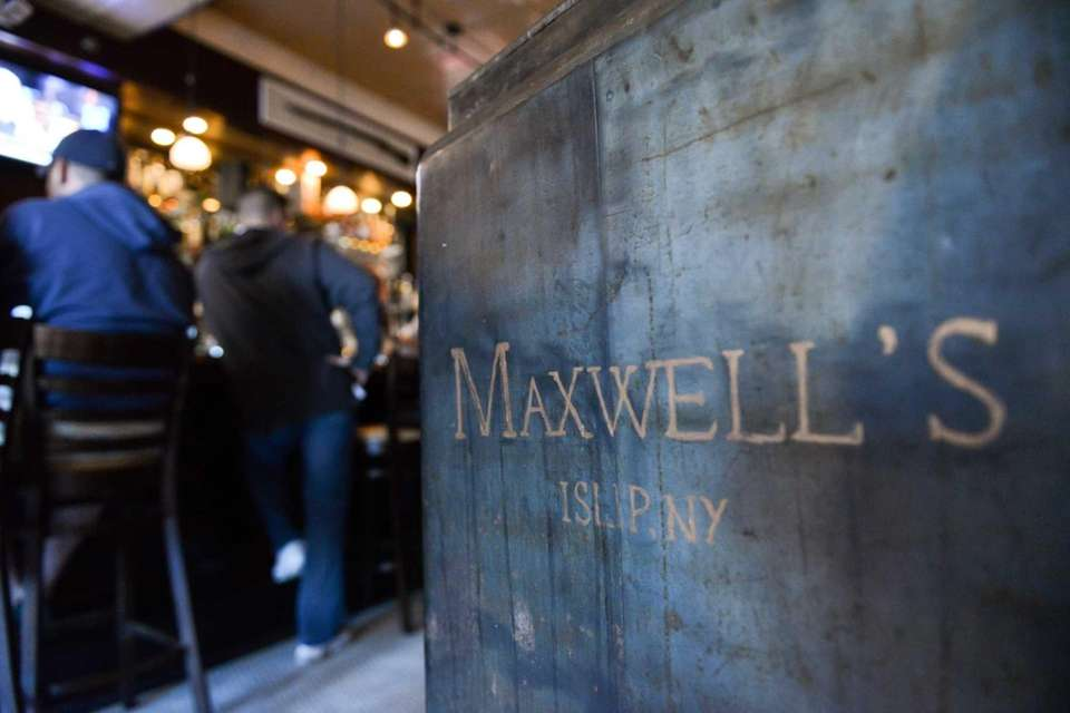 The entrance to Maxwell's in Islip has a