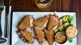 Mini reuben sandwiches are incredibly good at Maxwell's.
